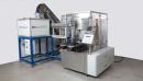 Vorschau zu: Vollautomatische Füllmaschine mit Zuschneidevorrichtung mit Einsetzstation